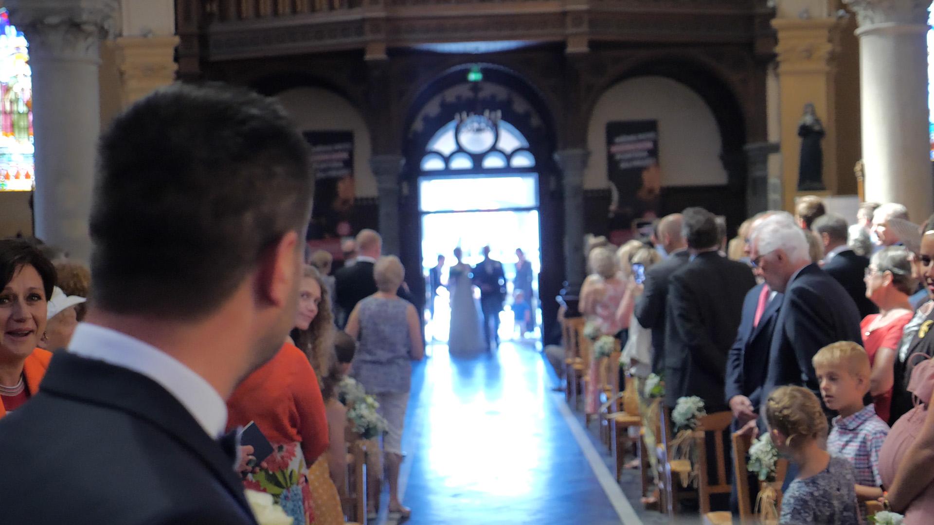 video de mariage cérémonie à l'église